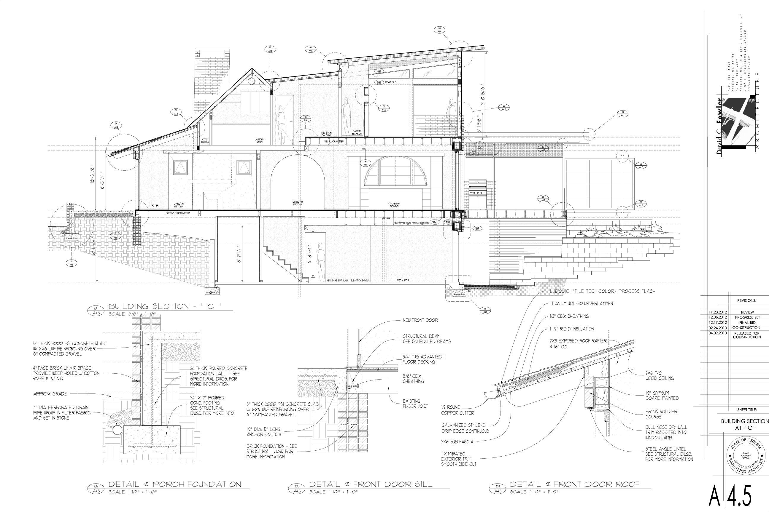 Construction docs process construction docs malvernweather Gallery